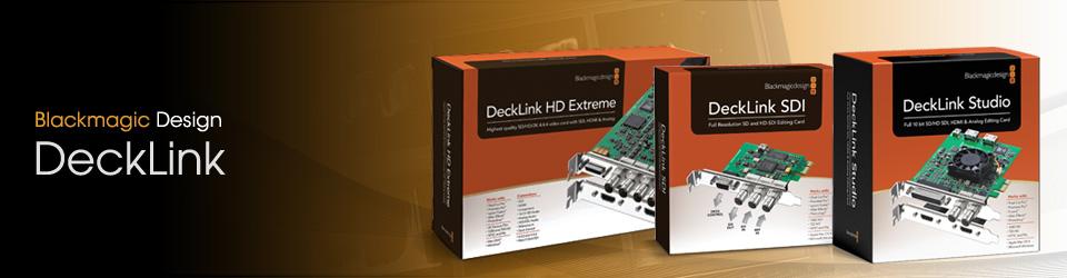 Blackmagic decklink 4k extreme used second hand & demo.