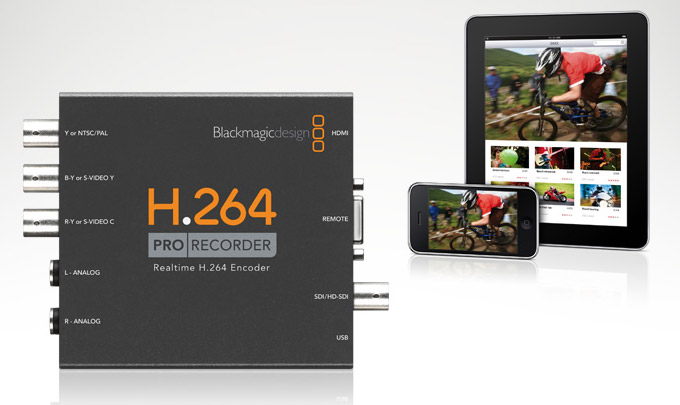 New Magic Blackmagic Design H 264 Pro Encoder